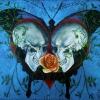 Heart Butterfly Dbl Skulls 72